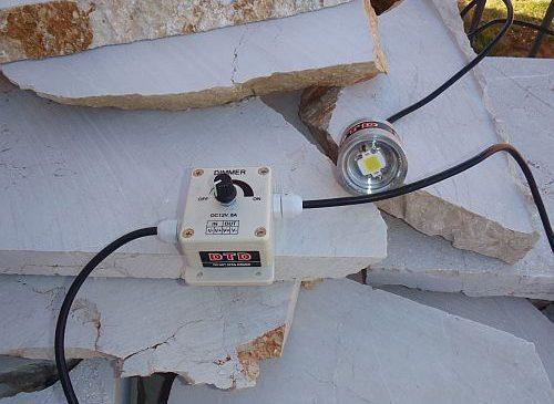 DTD led lampa