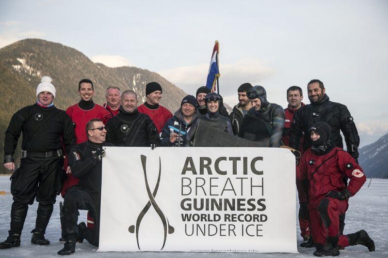 Hrvatica okovana ledom postavila novi Guinnessov rekord