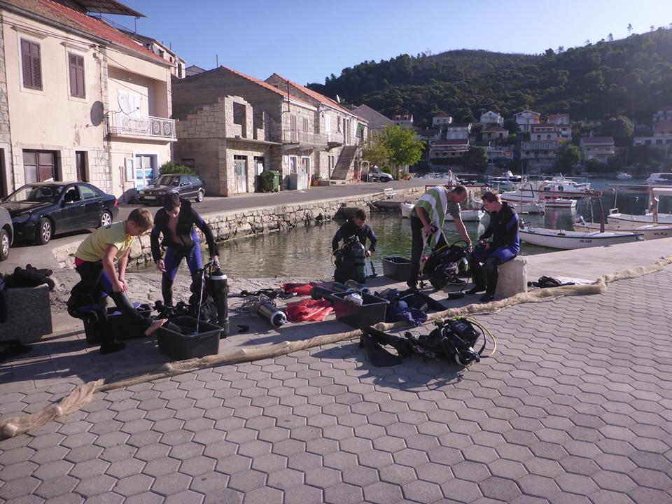 Eko-akcija na Korčuli