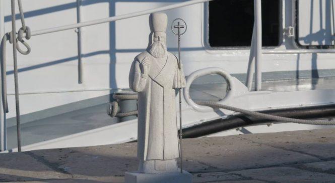 Postavljen kip Sv. Nikole