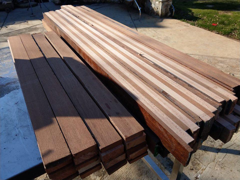 Priprema drva za podvodnu pušku (2)