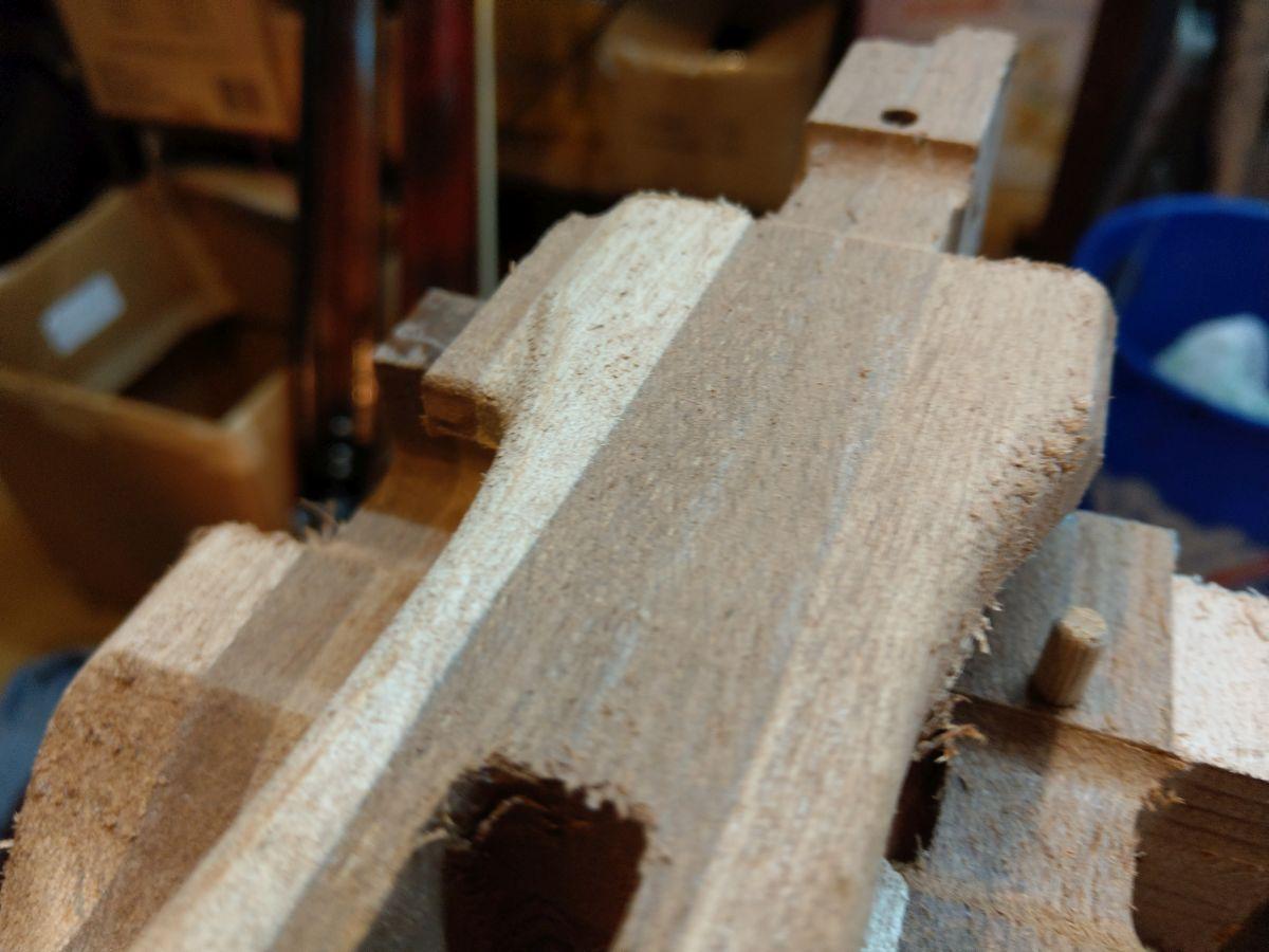 Priprema drva za podvodnu  pušku (4)