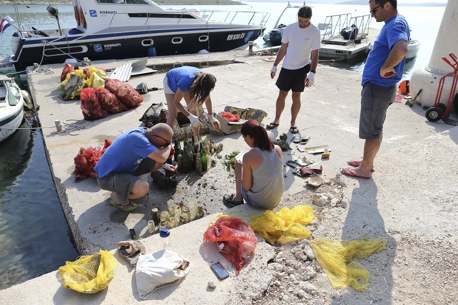 Čišćenje podmorja Kornata