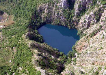 Ronjenje u jezeru Galipovac