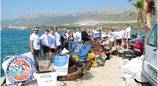 Čišćenje podmorja u Vranjicu