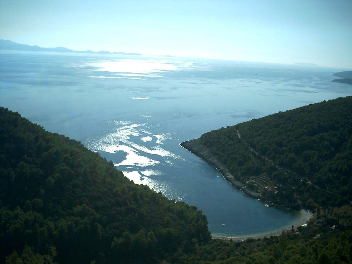Sastav morskog otpada na južnoj strani Korčule