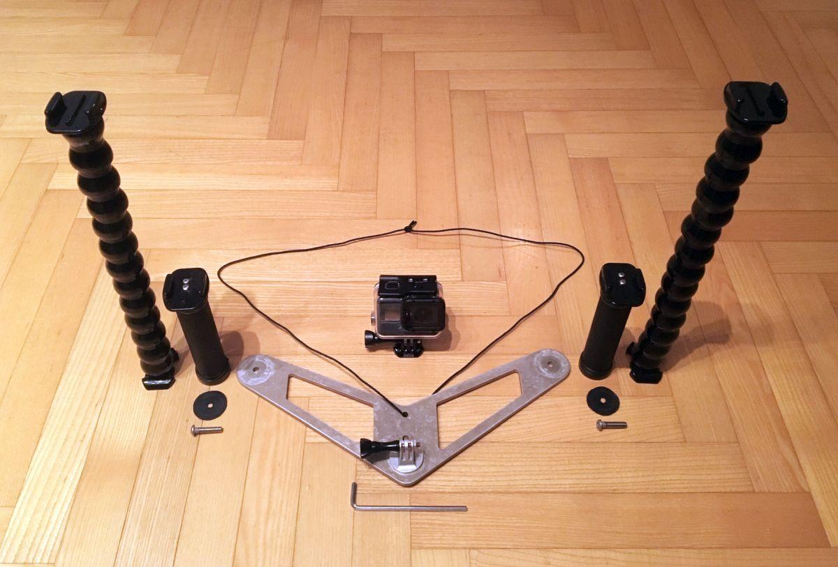 Kako izraditi stalak za podvodno fotografiranje i video snimanje