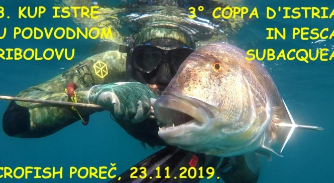 Kup Istre u podvodnom ribolovu