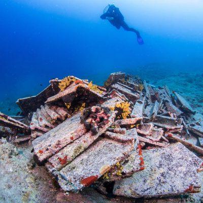Građevinski otpad kod Novalje ili arheološki nalaz ?