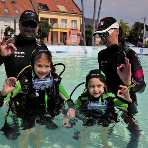 Besplatna probna ronjenja u Popovači