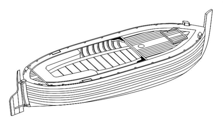 Temeljna načela korčulanske gradnje drvenog broda (1)