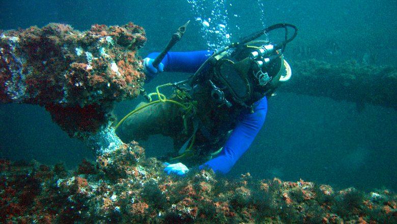 Oprema za čišćenje pod morem