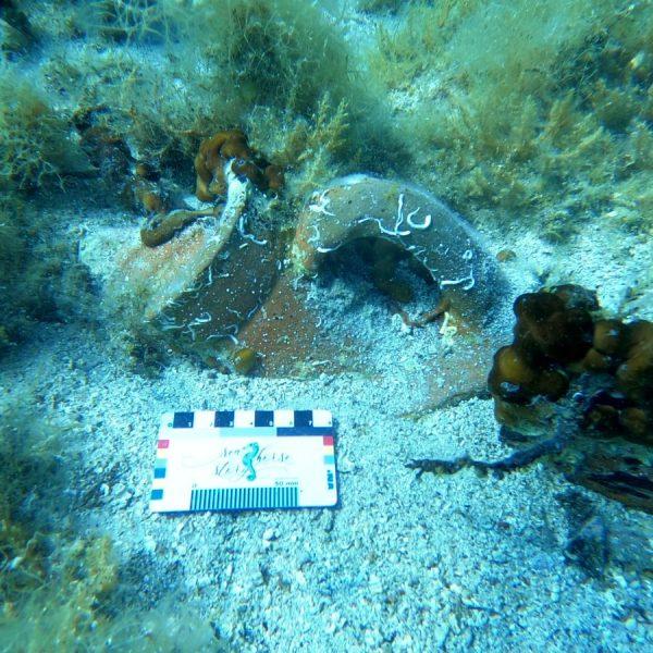 Novo arheološko nalazište u podmorju Paga