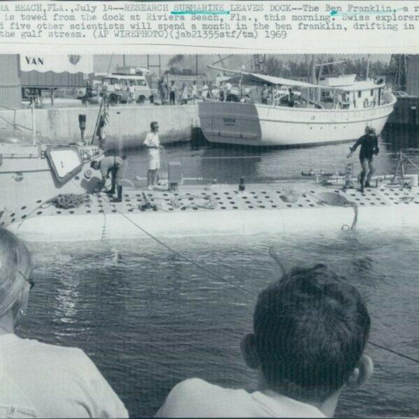 BEN FRANKLIN, istraživačko podvodno plovilo