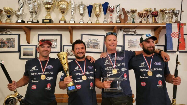 Ekipa iz Arbuna ponovo je prvak Hrvatske
