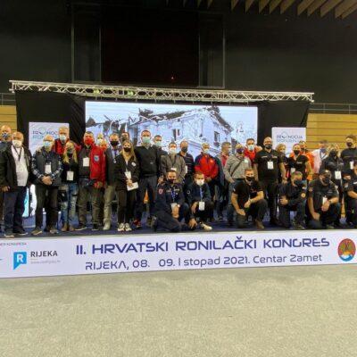 Objedinjavanje ronilačke populacije na drugom hrvatskom ronilačkom kongresu